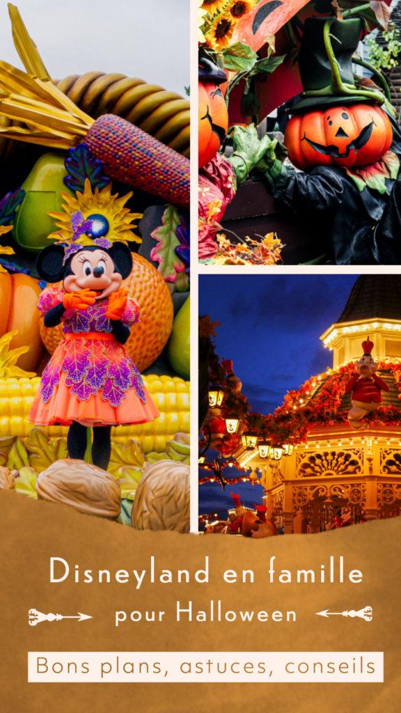 Disneyland en famille pour Halloween bons plans et conseils