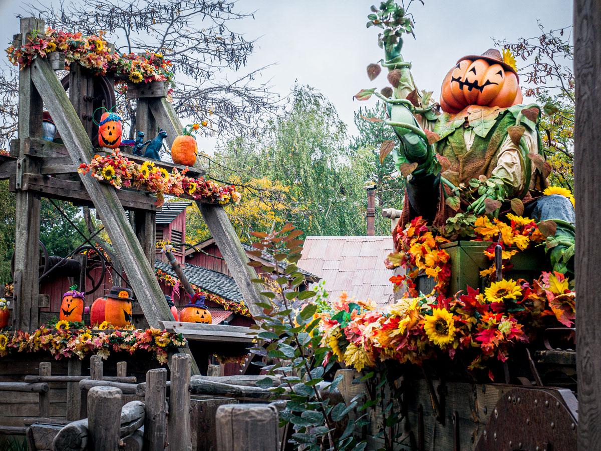Décoration et ambiance à Disney à Halloween