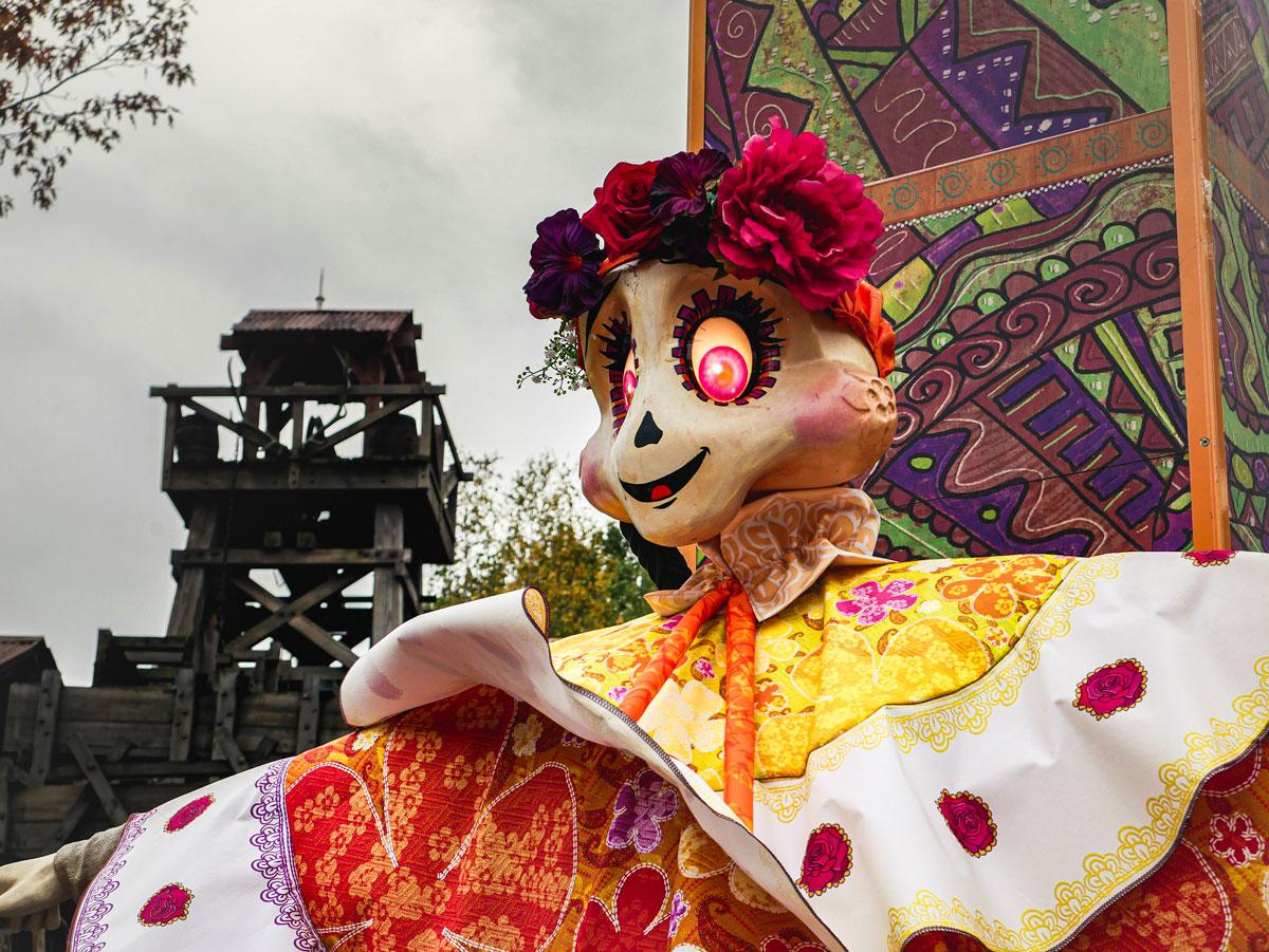 Ambiance Halloween dans Disneyland Paris