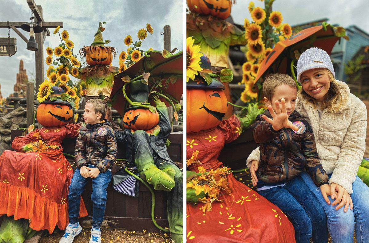 Pourquoi faire Disneyland pendant la période d'Halloween