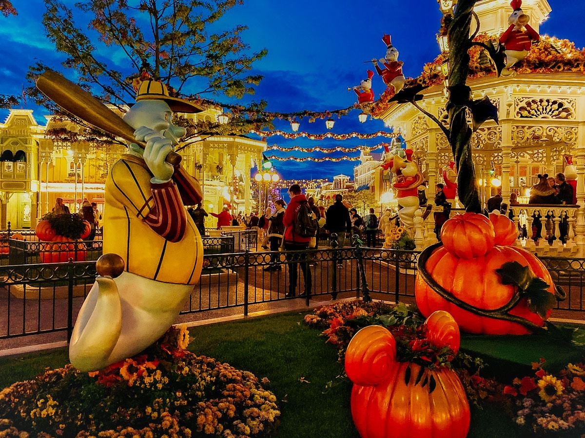 Décorations de Disney pendant Halloween