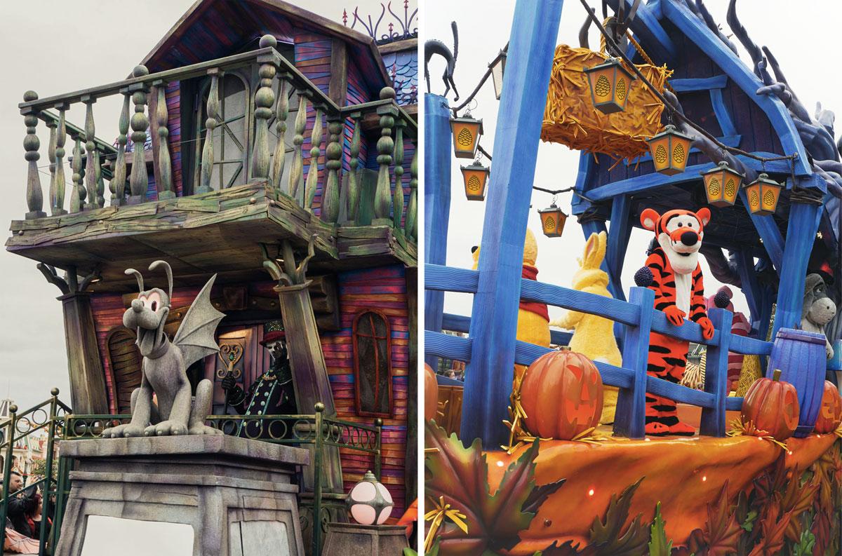 Parades et évènements Disney pendant l'automne