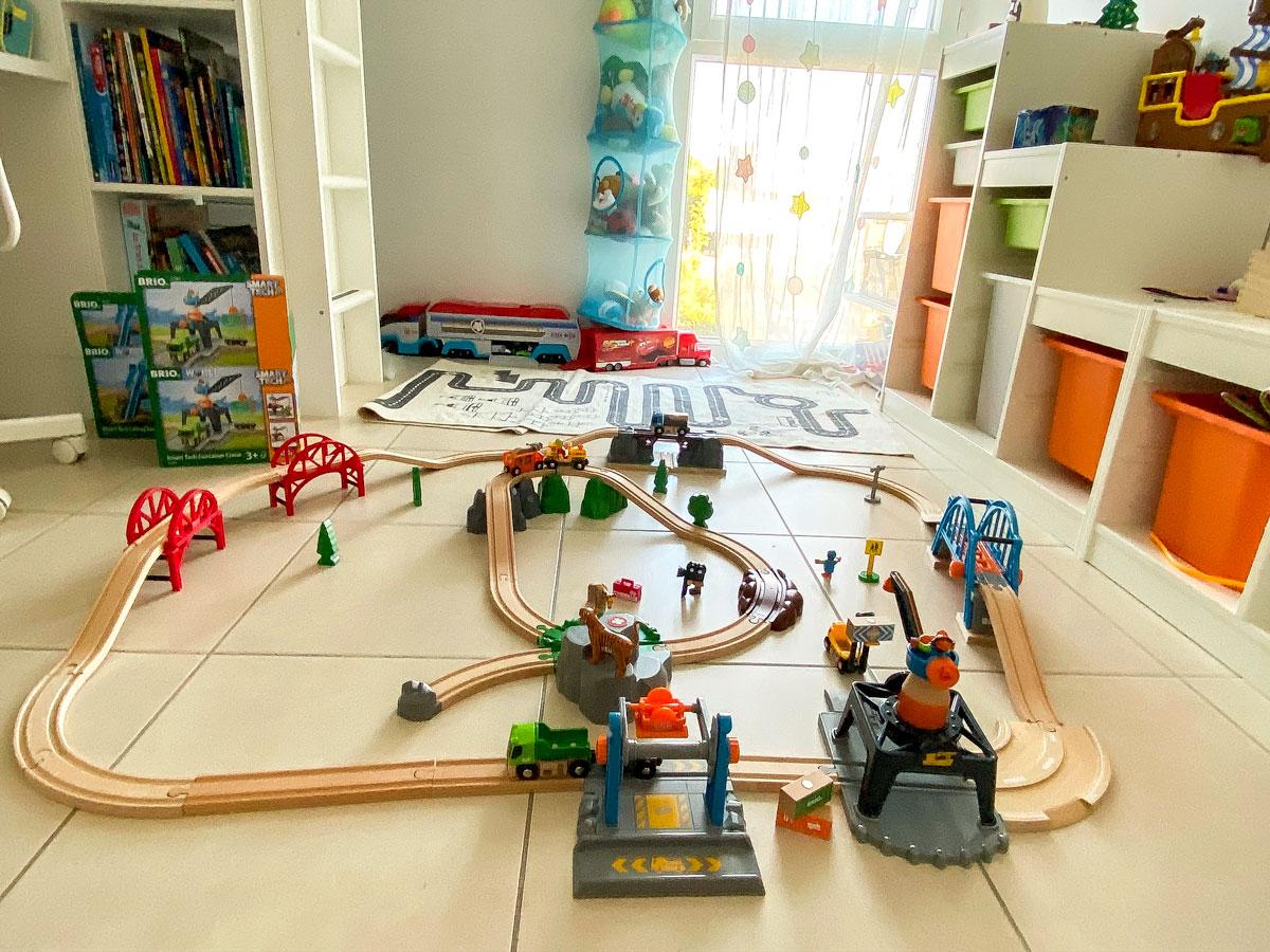 circuit en bois pour enfant de Brio test et avis