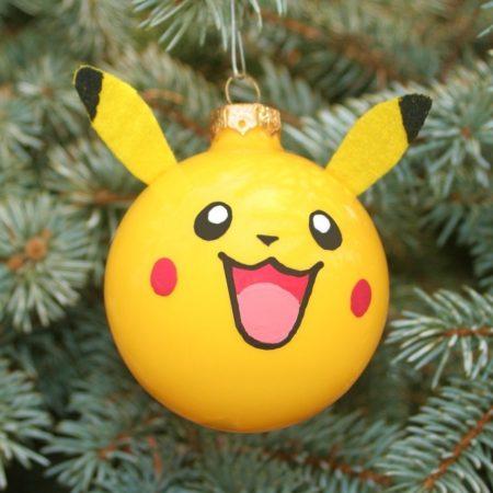 boule de Noël Pikachu