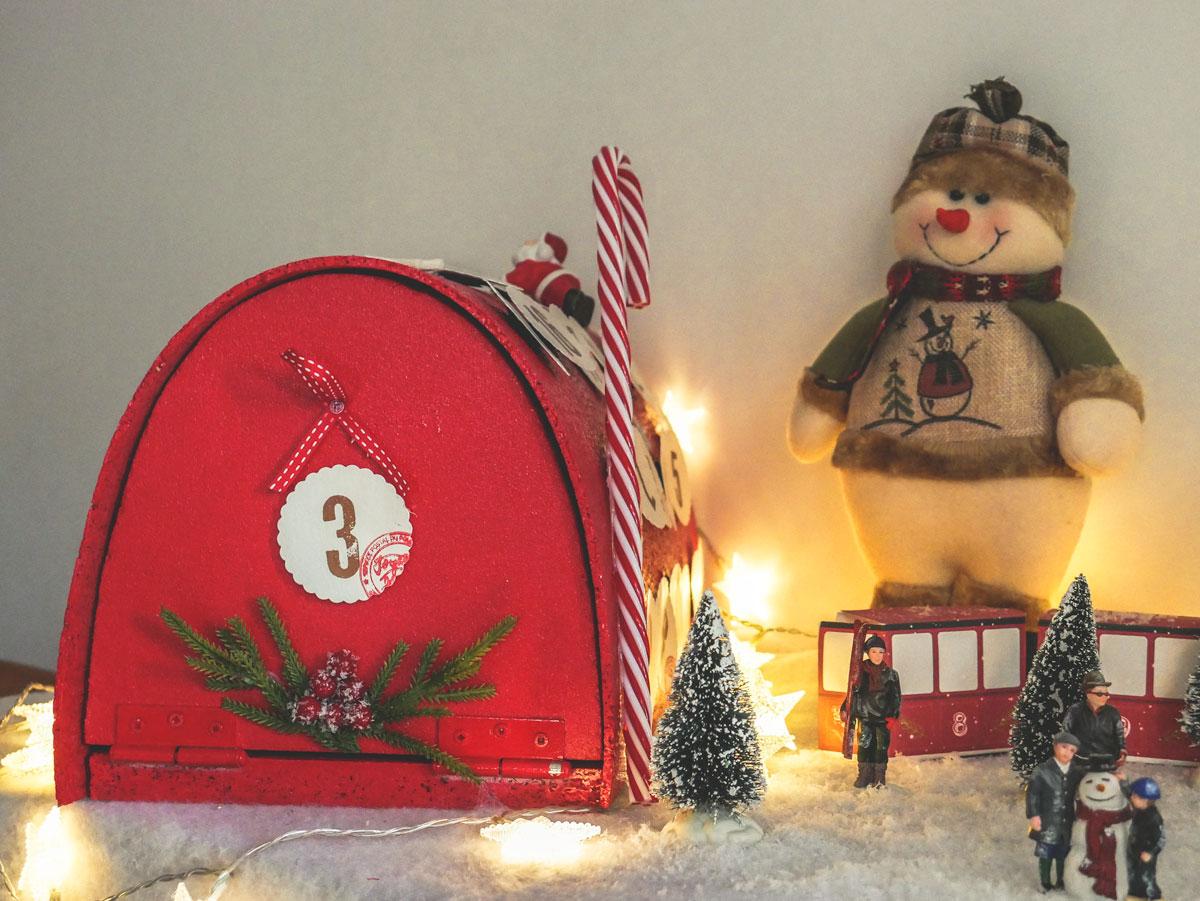 DIY fabriquer une boîte aux lettre décoration