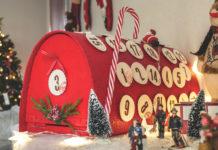 """DIY: La calendrier de l'Avent """"la boîte aux lettres du Père Noël"""""""