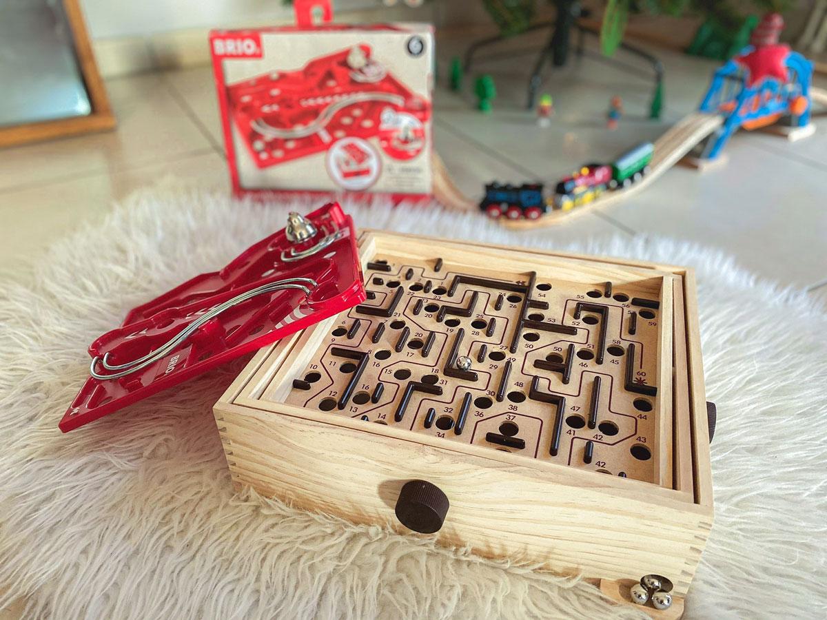Test et avis du jeu de labyrinthe en bois de Brio