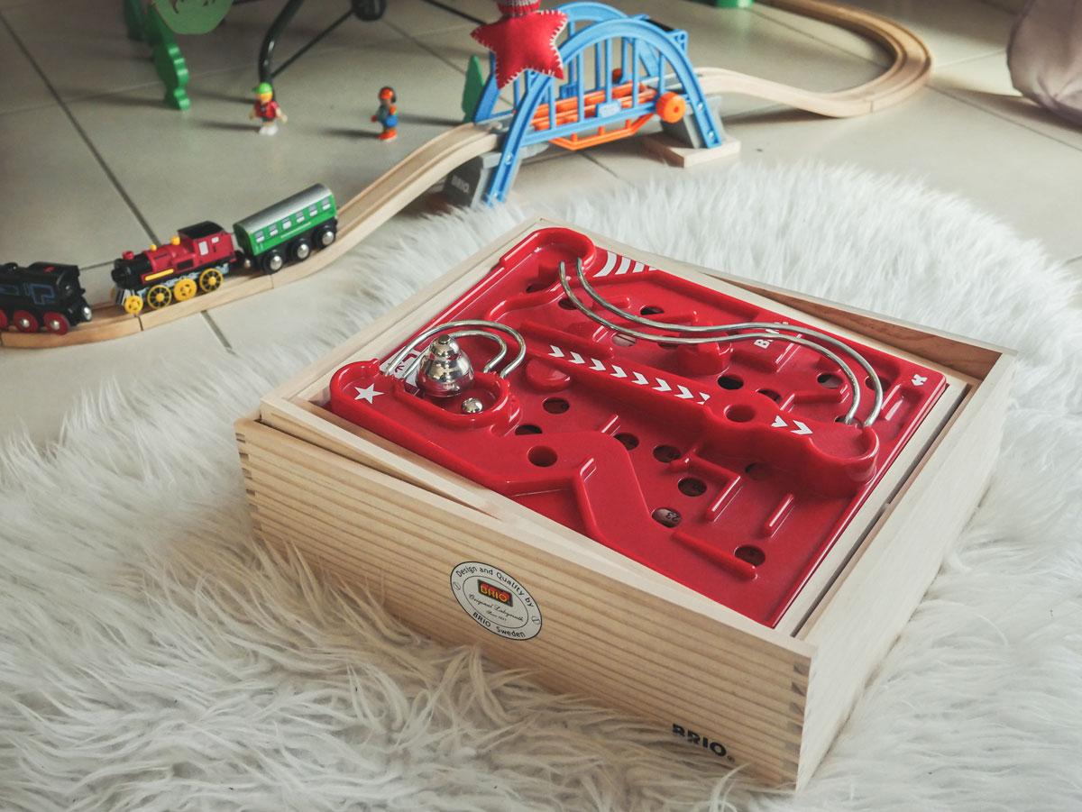 labyrinthe en bois Brio idée cadeau pour les enfants à partir de 6 ans