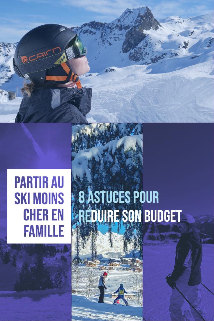 Conseils et astuces pour partir skier moins cher en famille