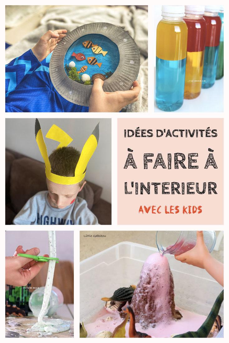 Nos idées d'activités créatives et éducatives à faire à la maison avec les enfants