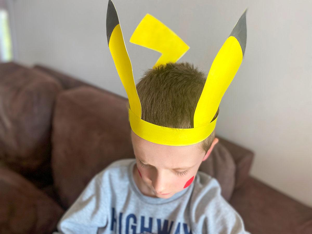 Activités enfant Pokemon, déguisement Pikachu