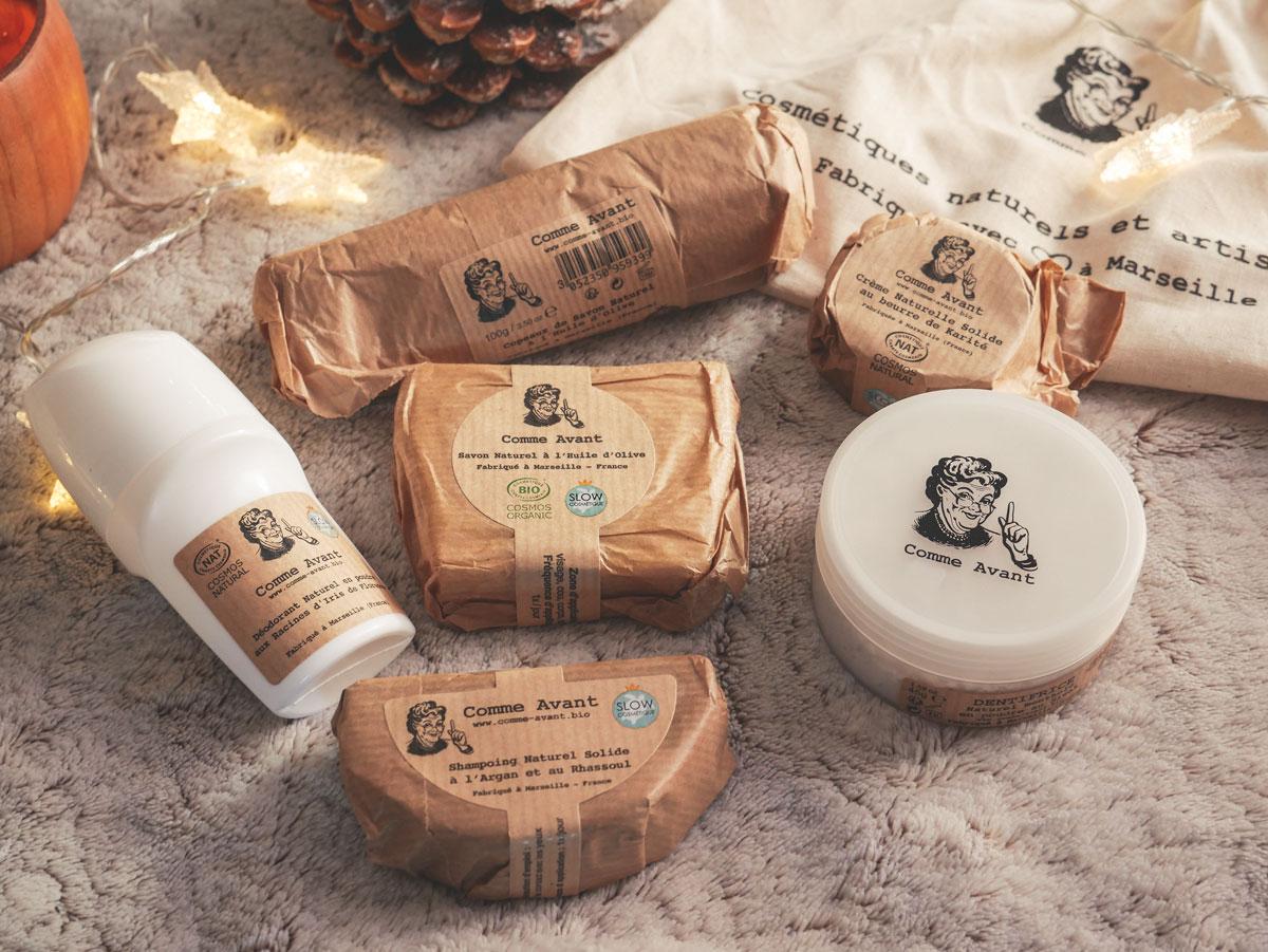 Test du coffret découverte de la marque de produits cosmétiques naturels française Comme Avant