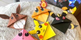 Activité manuelle Pokémon avec les marque-pages rigolos