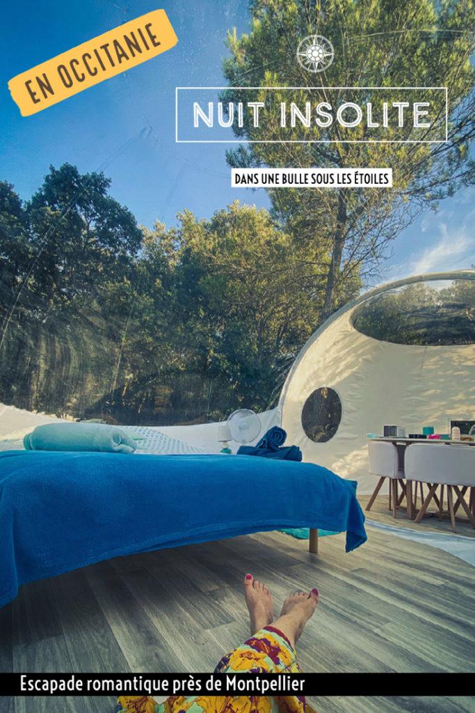 Nuit en famille dans une bulle panoramique à l'Astronarium