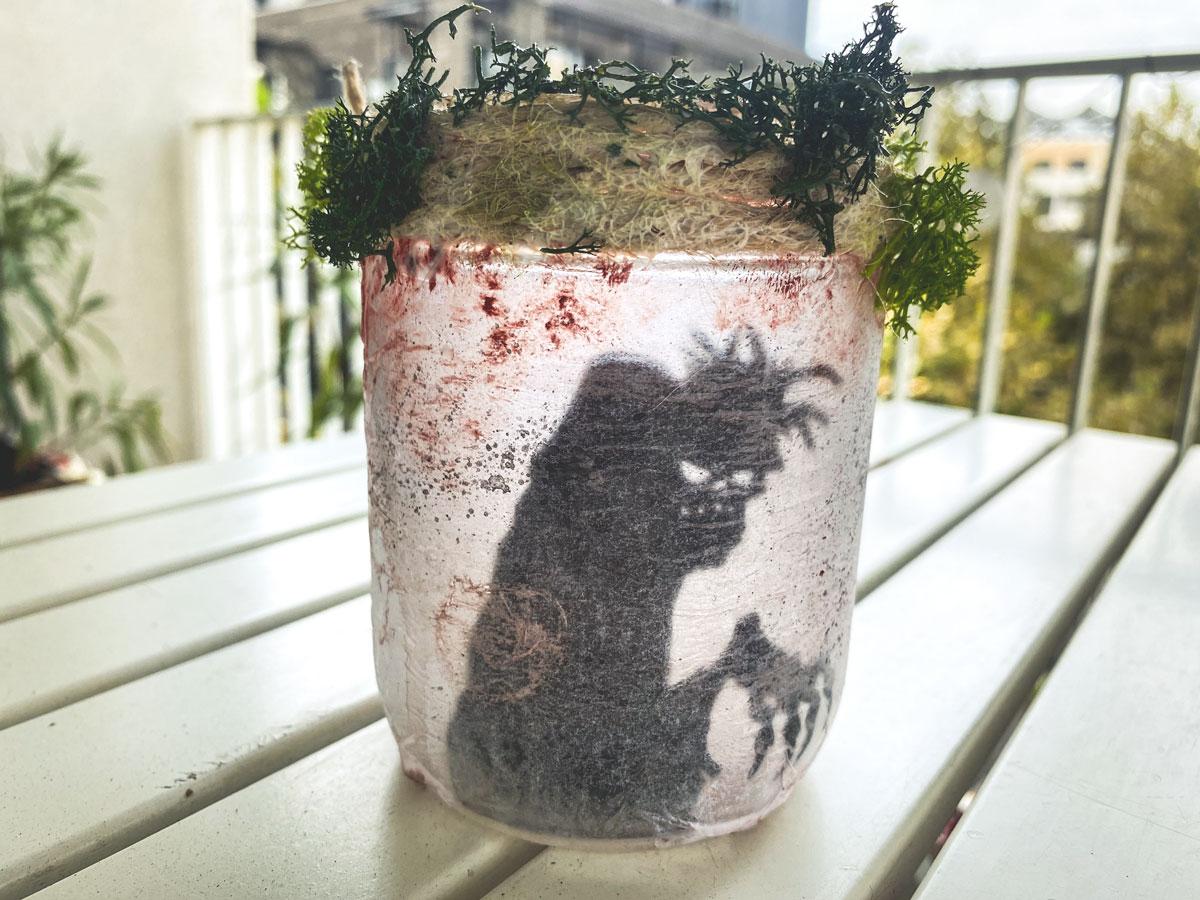 DIY: des bocaux lanternes ensorcelés pour Halloween fait maison