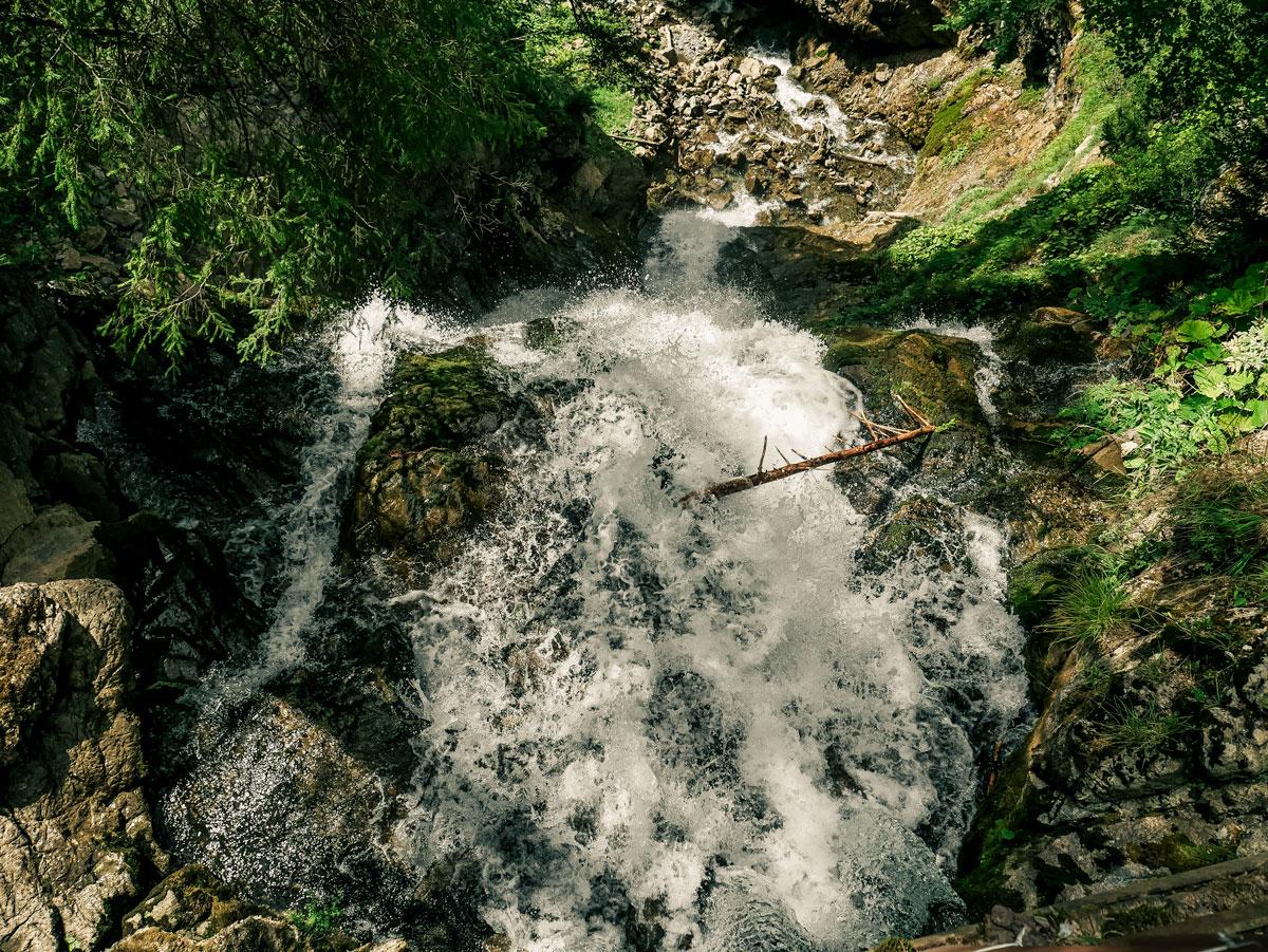 la Cascade de l'Ardent