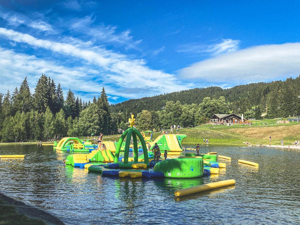 Vacances d'été à la montagne, que faire avec les enfants aux Gets