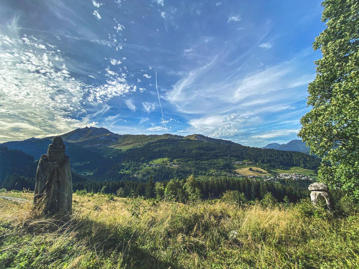 Paysages et randonnées Mont Chéry, les Gets dans les Alpes