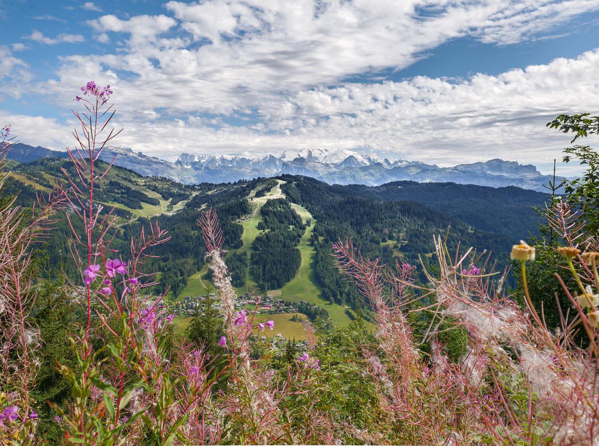 Randonnées et jolis paysages des Gets Haute Savoie