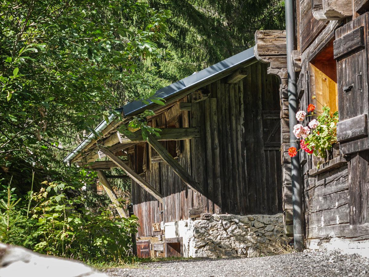 Village de Montriond, les Alpes