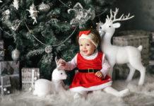 sélection de vêtements de fête pour enfants et bébés