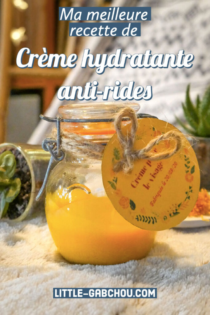 Ma meilleure recette de crème hydratante anti-rides, bio et naturelle